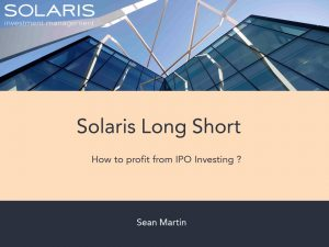 Solaris Long Short Webinar March 2019_Final