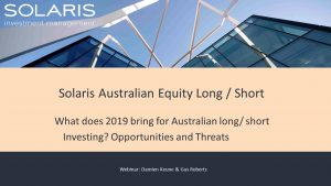 What does 2019 bring for Australian long short investing